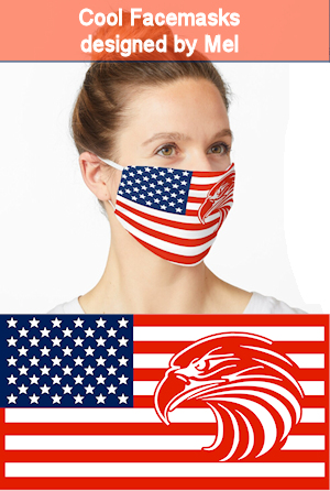 American Eagle Flag Facemask