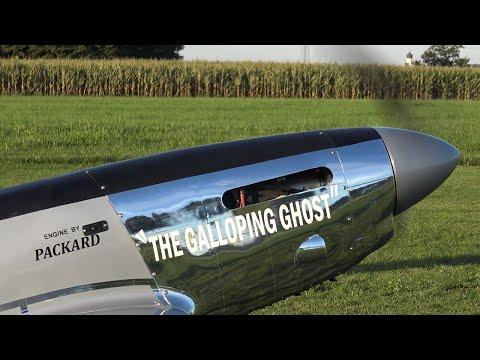 RC Scale Airplanes - The Galloping Ghost P-51