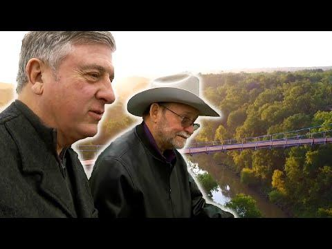 Crossing the Regency Bridge Video (Texas Country Reporter)