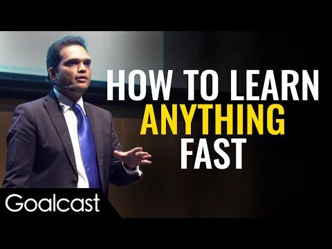 Master of Memory Shares Brain Tricks | Nishant Kasibhatla | Goalcast Speech