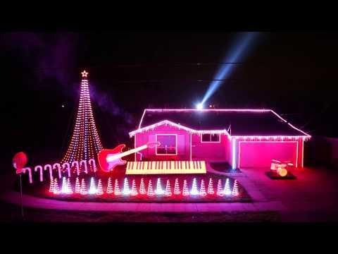Best Of Star Wars Music Christmas Lights Show 2014