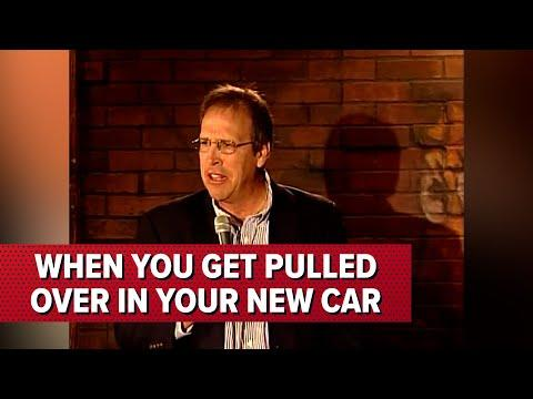 When You Get Pulled Over In Your New Car | Jeff Allen #Video
