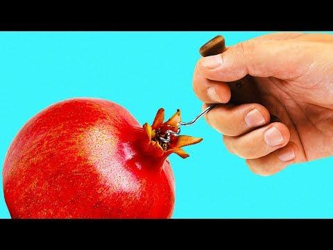 24 LIFE HACKS FOR FRUITS