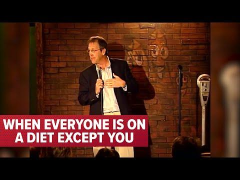 When Everyone is on a Diet Except You Video! | Comedian Jeff Allen