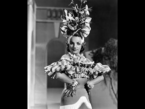 50 Stunning Photos of Actress & Singer Carmen Miranda During the 1930s & 1940s Video