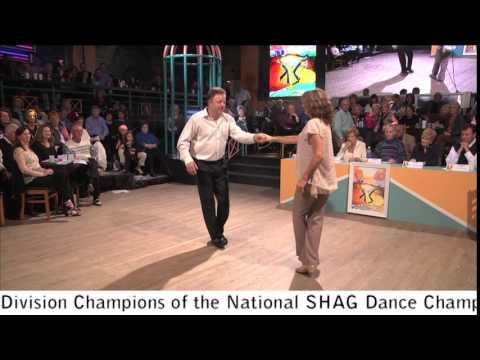 Bill & Brenda Barber - 2014 National SHAG Dance Championships