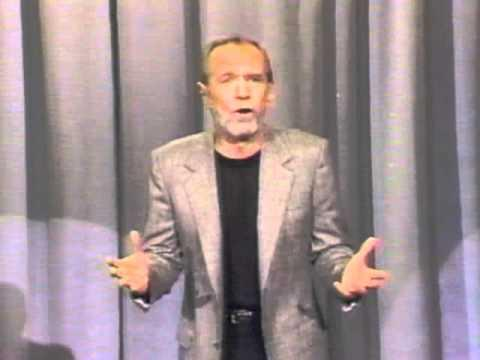Losing Things. Comedian George Carlin