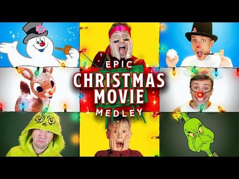 Epic Christmas Movie Medley Video - Peter Hollens feat Brian Hull and Geoff Castellucci