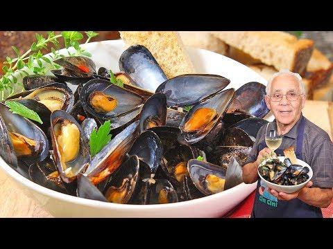 Steamed Mussels in White Wine Recipe. OrsaraRecipes