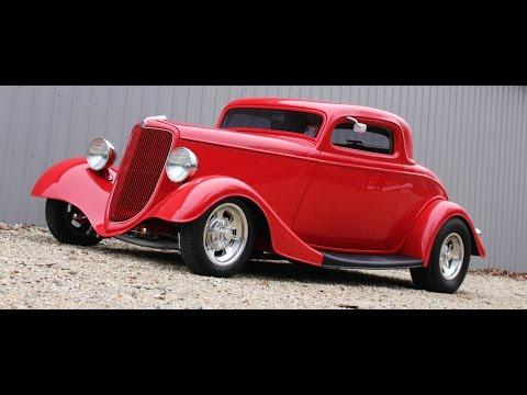 Badass 1934 Ford 3 Window Coupe