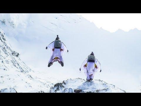 BASE jumping into a plane mid-air. (Extended Version)   A Door In The Sky