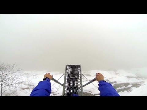 Jumping Off A Foggy Cliff. Your Daily Dose Of Internet