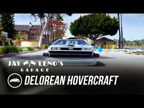 Jay cruises on land and water in a DeLorean Hovercraft - Jay Leno's Garage