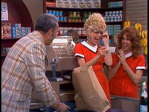 Supermarket Checker From The Carol Burnett Show (full Sketch)