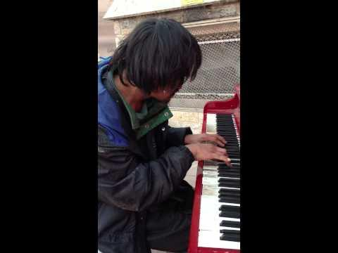 Homeless Man Shocks Viewers With Piano Performance