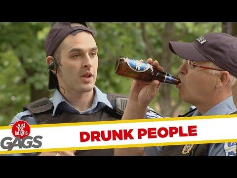Drunk People Pranks