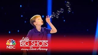 Little Big Shots - A True Artist with Bubbles (Episode Highlight)