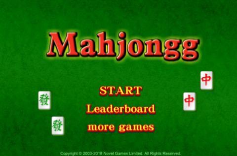 Free Game: Mahjongg