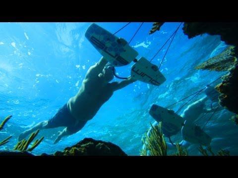 Flying Underwater! - Subwing In 4K