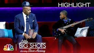 Little Big Shots - Bad Lil Bassist (Episode Highlight)