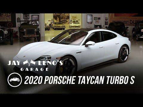 Brad Garrett, Jay Leno and the Porsche 2020 Taycan Turbo S - Jay Leno's Garage