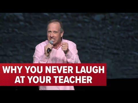 Why You Never Laugh At Your Teacher Video | Comedian Jeff Allen