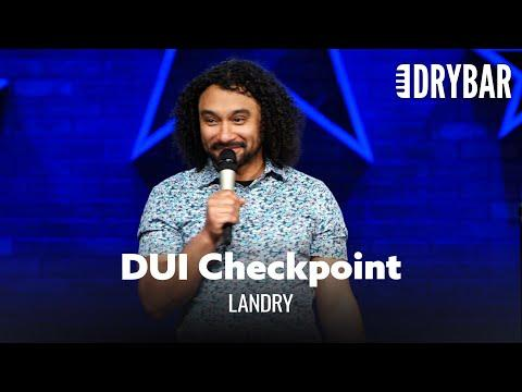 The Most Awkward DUI Checkpoint Ever Video. Comedian Landry