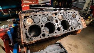 Ford Flathead V8 Engine Time Lapse Rebuild Commentary   Redline Rebuilds Explained