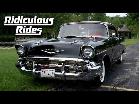 Grace Braeger Has Driven Her Immaculate '57 Chevy For 62 Years #Video