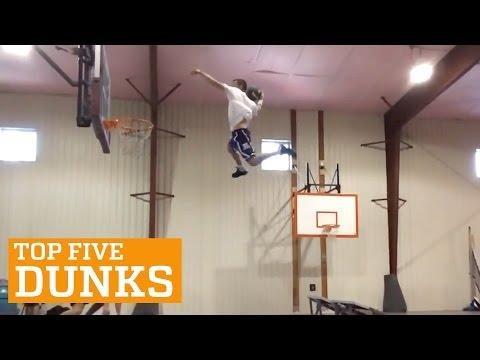 PEOPLE ARE AWESOME: TOP 5 - DUNKS