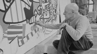 Post-war artist Jean Dubuffet