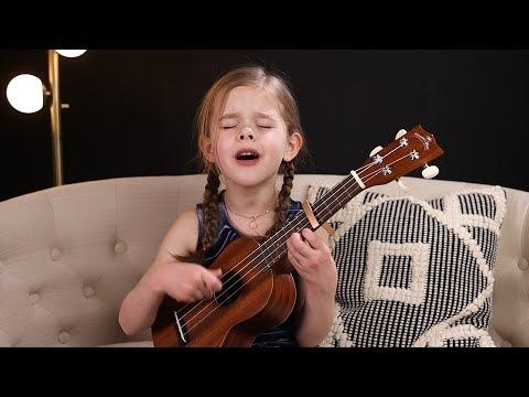 Can't Help Falling In Love - Elvis Cover Video by 6-Year-Old Claire Crosby