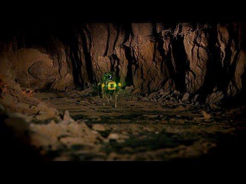 Spot at Kidd Creek Mine #Video