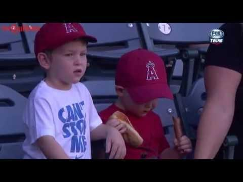 Anaheim Kid Struggles Hot Dog