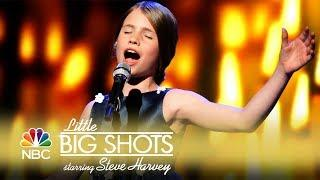 Little Big Shots - Dutch Opera Singer Wows (Episode Highlight)