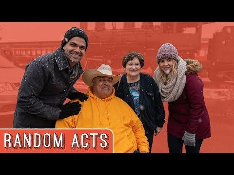 We Surprised Him With a NEW Wheelchair Accessible Van! - Random Acts