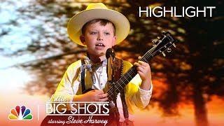 "Little Big Shots - Cash Sings Buck Owens' ""I've Got a Tiger by the Tail"" (Episode Highlight)"