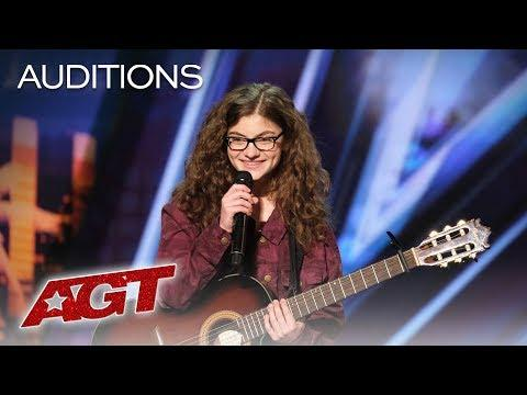 Bullied Teenager Sophie Pecora Sings And Raps About Her Struggles - AGT 2019