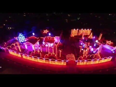 Fred Loya Christmas Light Show 2015