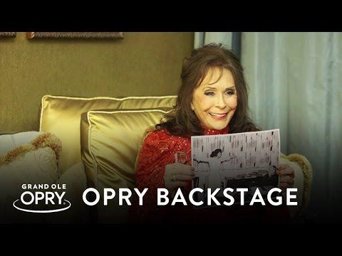 Loretta Talks: Opry Invitation, Willie Nelson Collaboration, and more | Backstage at the Opry | Opry