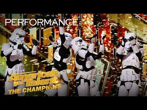 Golden Buzzer: Boogie Storm! Simon's Dreams Come True AGAIN - America's Got Talent: The Champions