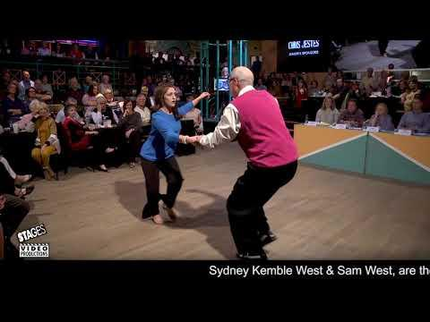 Sydney Kemble West & Sam West - 2019 National SHAG Dance Championships