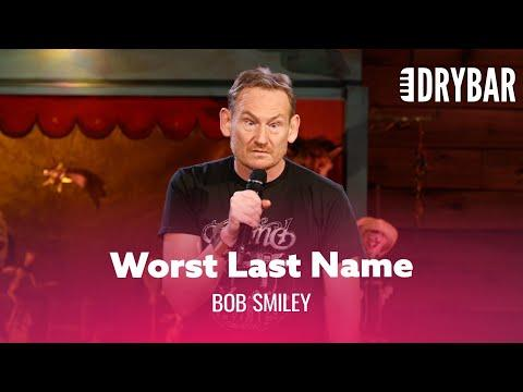 The Worst Last Name To Travel With Video. Comedian Bob Smiley
