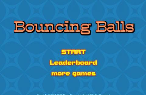 Free Game: Bouncing Balls