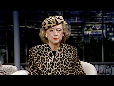 Bette Davis Talks About Her Acting Career on The Tonight Show Starring Johnny Carson
