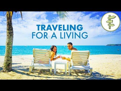 Couple Gets Paid to Travel the World & Shares How They Did It