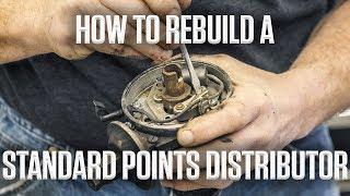 DIY | How to rebuild a standard points distributor