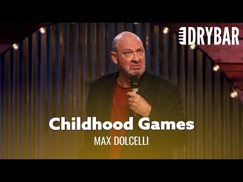 Childhood Games Were The Worst Video. Comedian Max Dolcelli