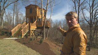 Take A Look At This Honeymoon Treehouse To Make Thomas Jefferson Proud!