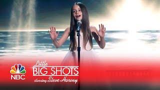 Little Big Shots - Stunning 9-Year-Old Opera Singer (Episode Highlight)